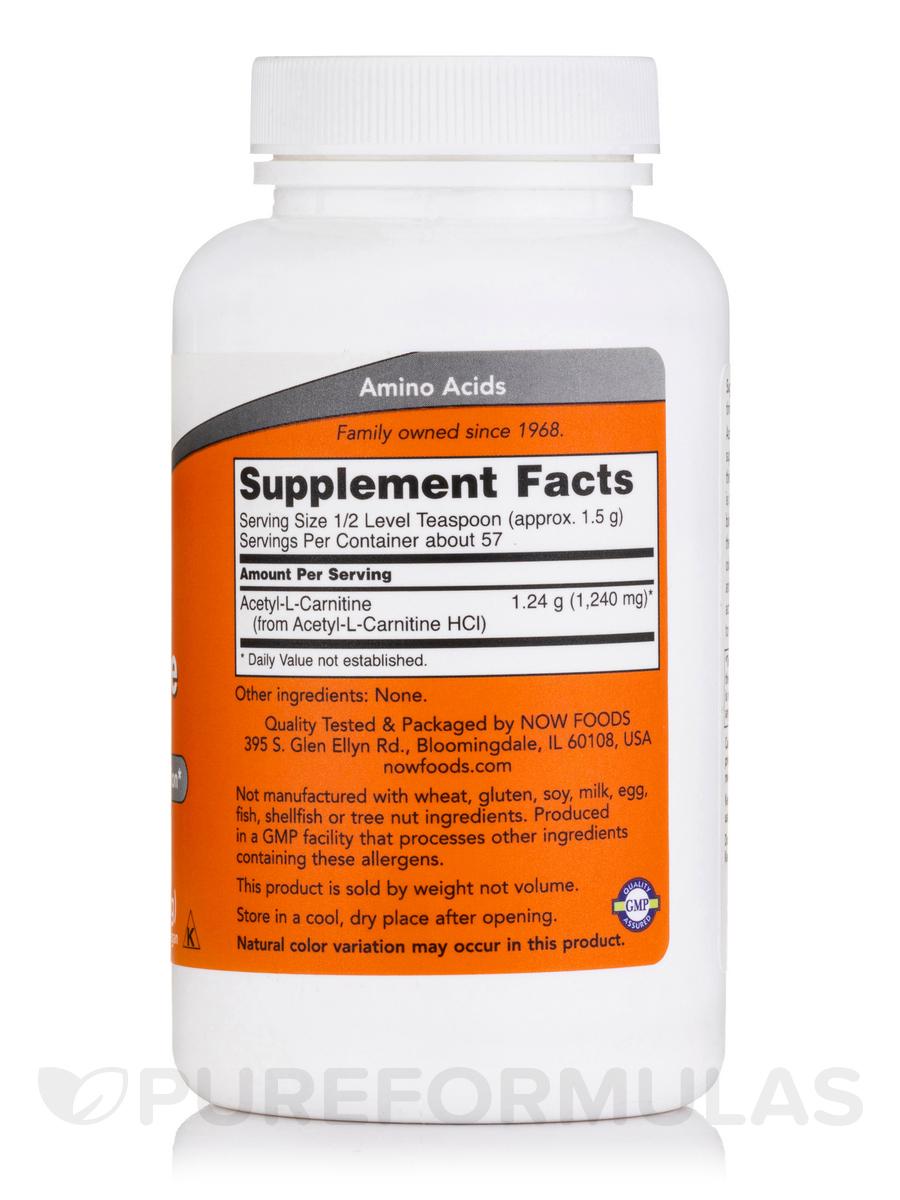 acetyl-l carnitine pure powder