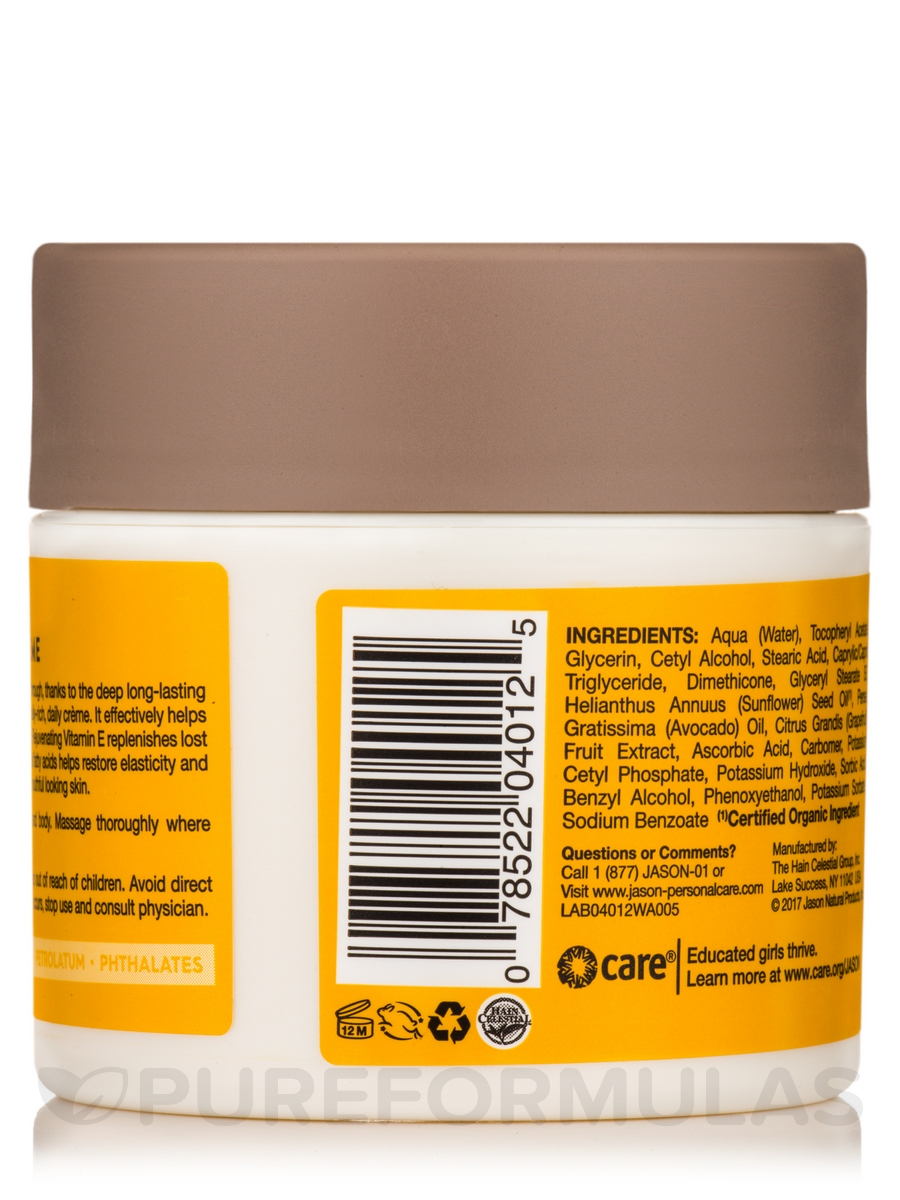 Jason Moisturizing Vitamin E Age Renewal Creme 4 oz Nestle 6pk Lip Balm,  Dessert by Almar Sales