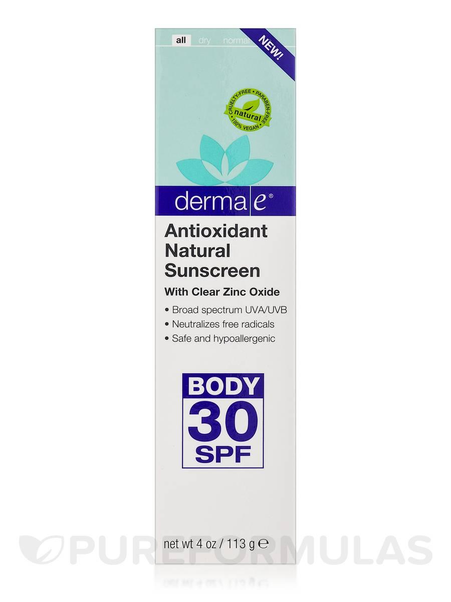 Sunscreen with antioxidants