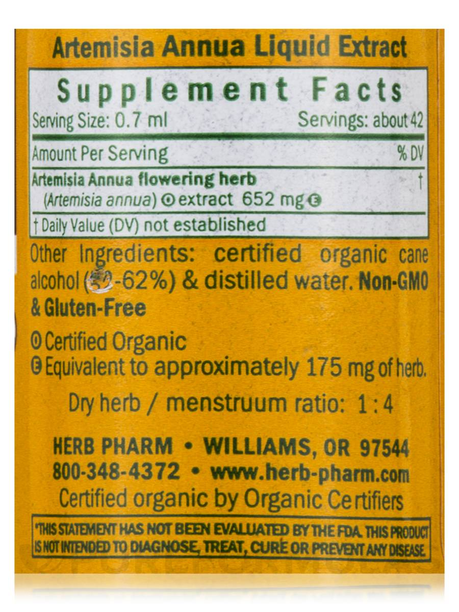 AYRSJCL 4 onces Organic Artemisia vulgaris C//S 1, 4 onces