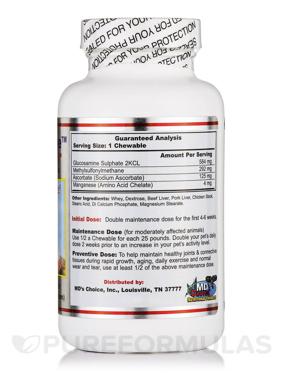 Arthrosamine Beefy Chewables For Dogs Of All Ages 60