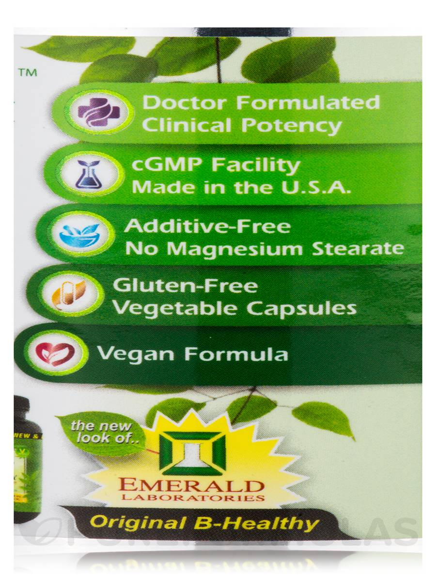 Emerald Labs CoEnzymated B Healthy - Vegetable Capsules