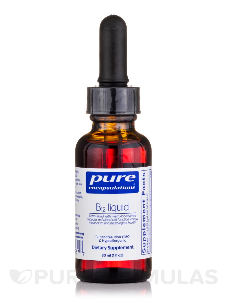 B12 Liquid 1 Fl Oz 30 Ml