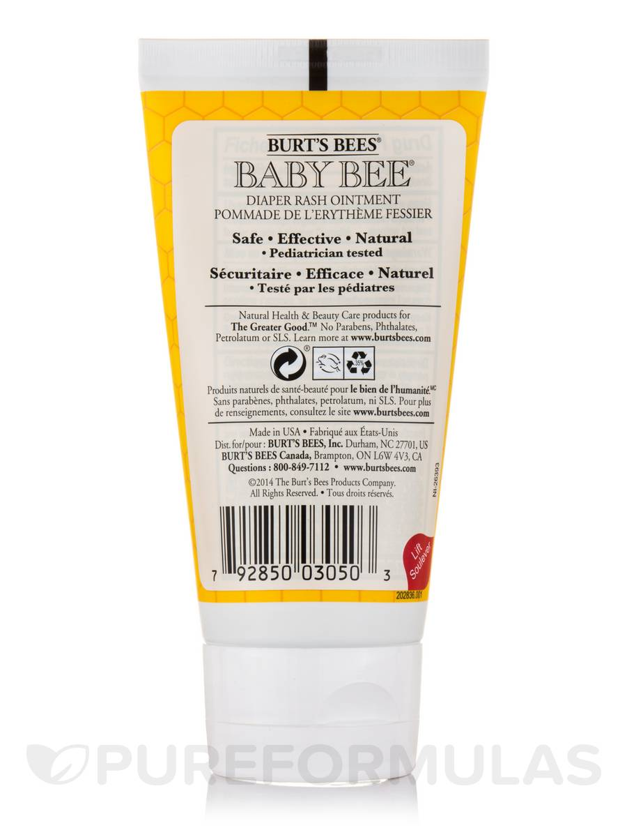 4b53df2e2 Baby Bee® Diaper Rash Ointment (Maximum Strength) - 3 oz (85 Grams)
