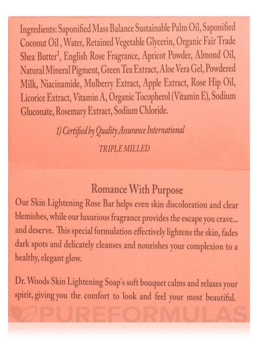 Bar Soap Skin Lightening Rose 5 Oz 149 Grams