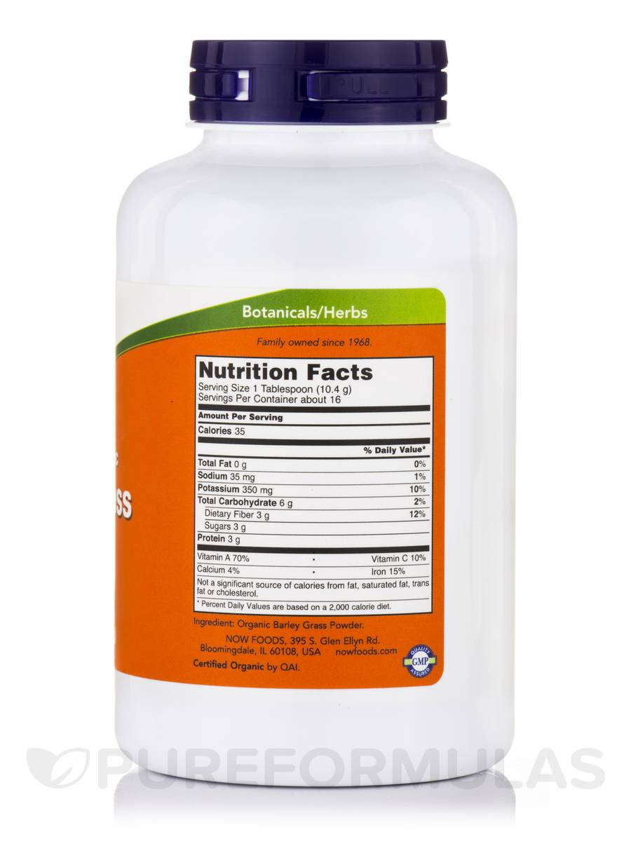 Barley Grass 100 Pure Powder 6 Oz 170 Grams