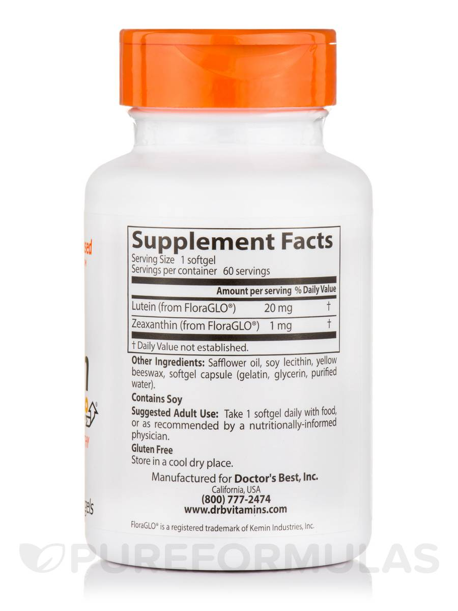 Lutein With Optilut 10 Mg