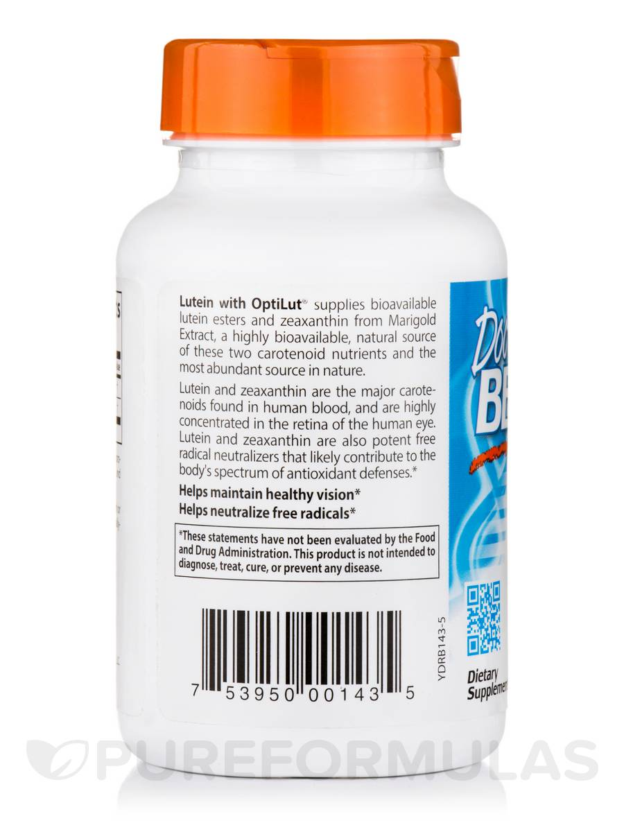 Lutein With Optilut 10 Mg: Lutein With OptiLut® 10 Mg