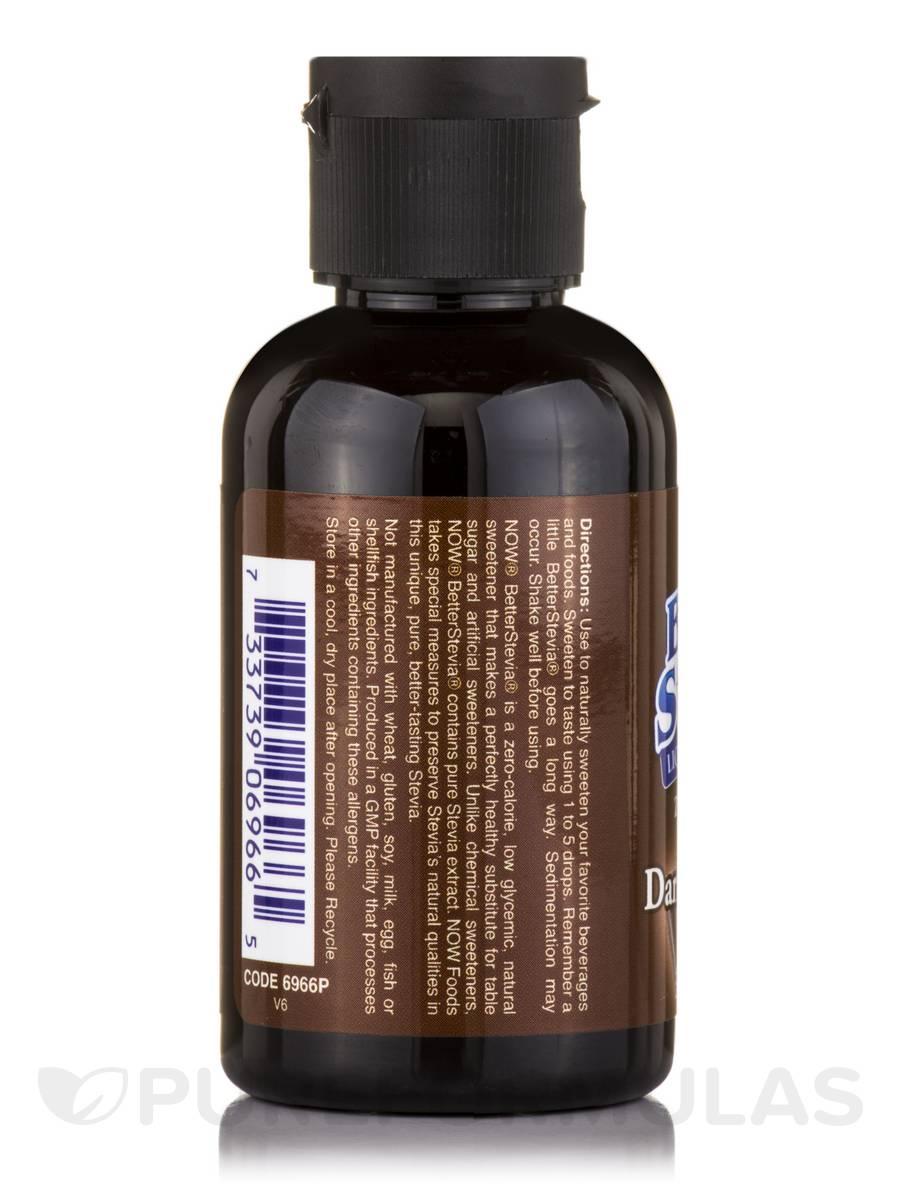 Better Stevia Liquid Sweetener, Dark Chocolate - 2 fl. oz (60 ml)