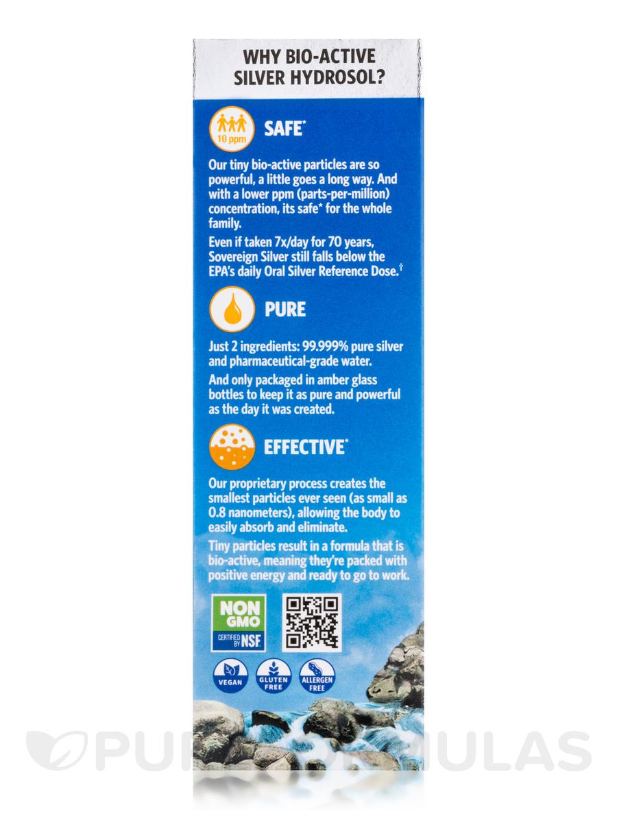 Bio Active Silver Hydrosol Fine Mist Spray 10 Ppm 2 Fl