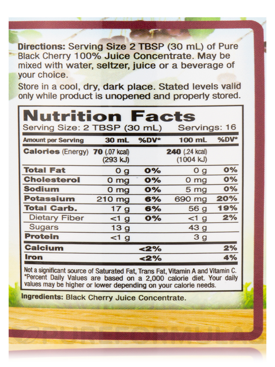 dynamic health black cherry juice concentrate