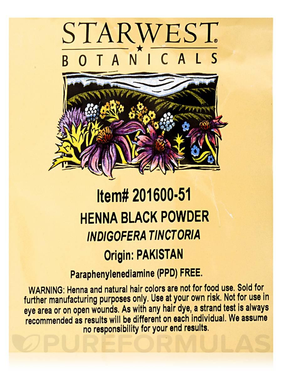 Bh1704 1 Piece Black Henna Cuff Tattoo With Flower Wrist: Black Henna Powder
