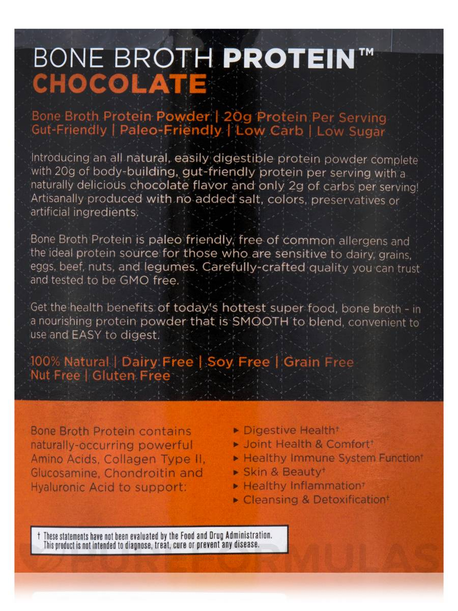 Broth Protein™ Chocolate - 17.8 oz (504 Grams)