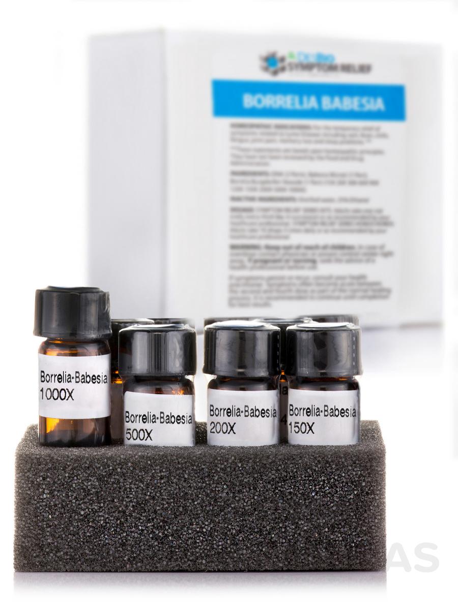 Series Symptom Relief Kit Borrelia Babesia - 10 Vials