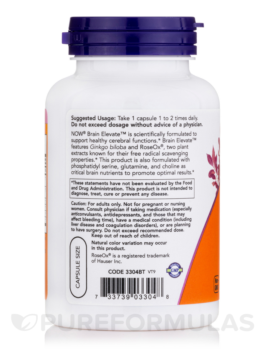 NOW Brain Elevate Review - Anti-Aging Antioxidants ...