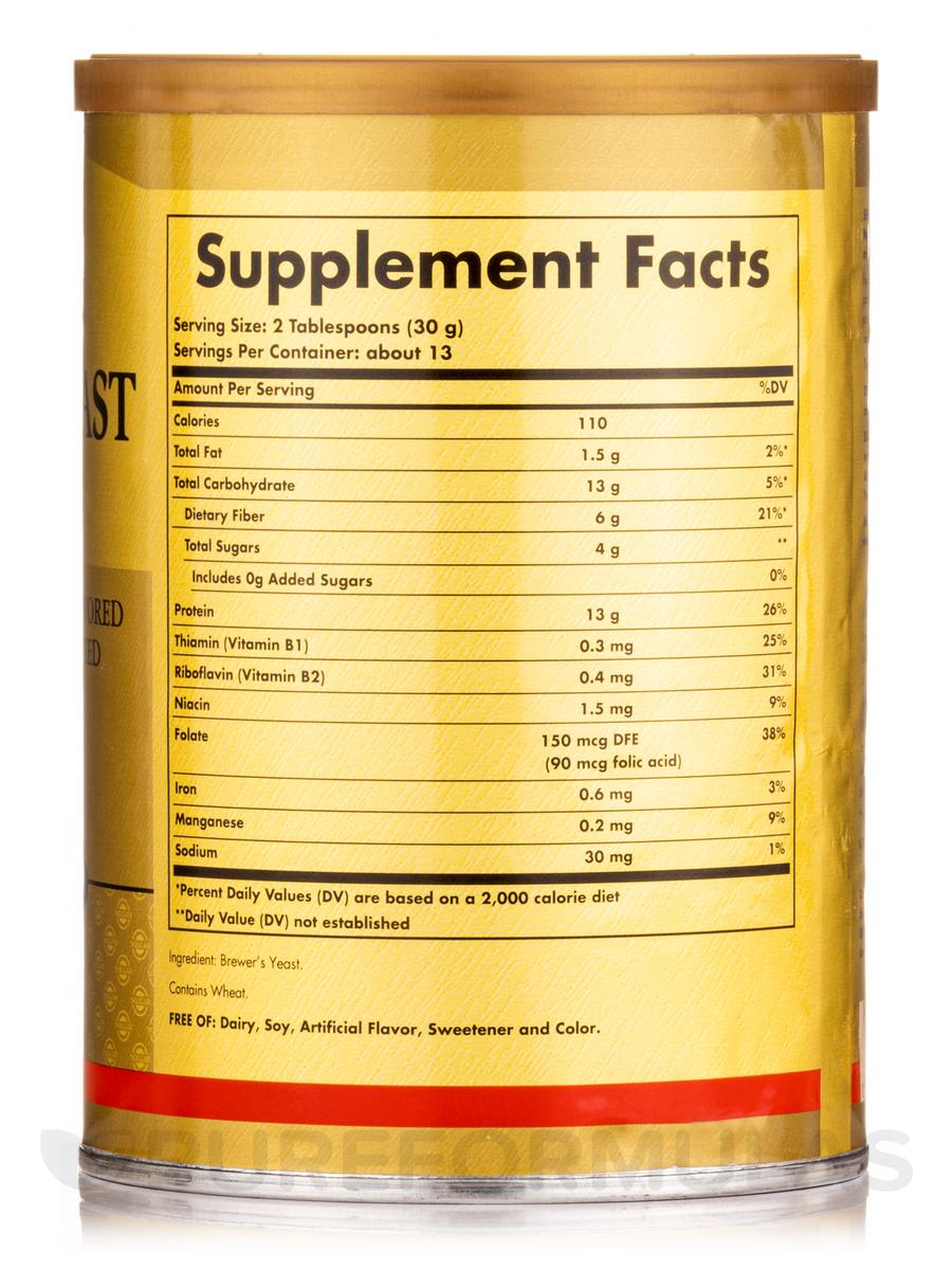 Brewer S Yeast Powder 14 Oz 400 Grams