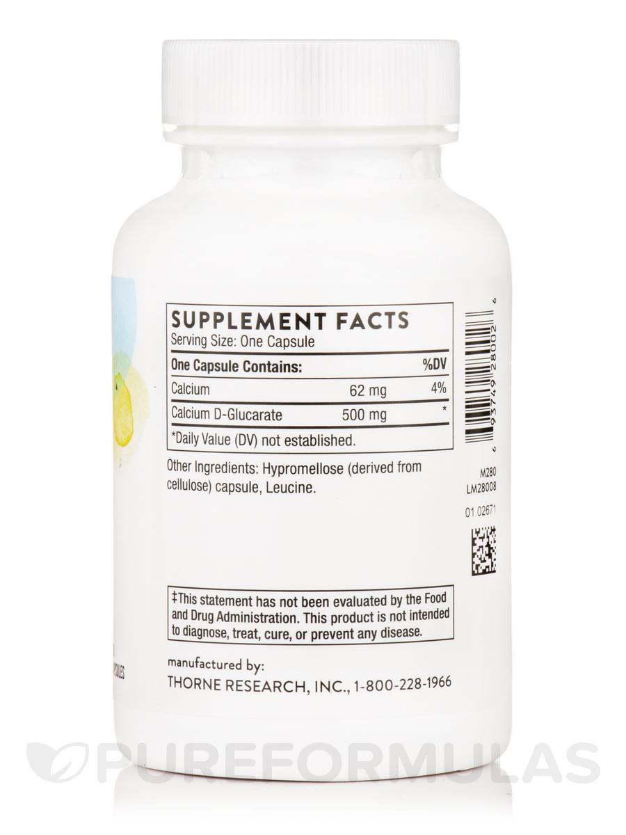 Calcium D Glucarate 90 Capsules