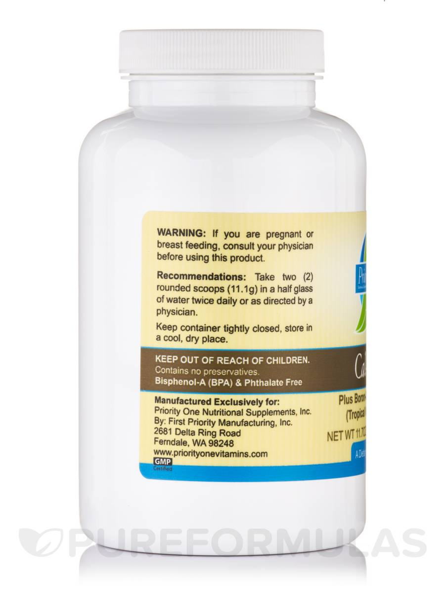 mag + boron-citrate-chelates (effervescent) tropical vanilla punch, Skeleton