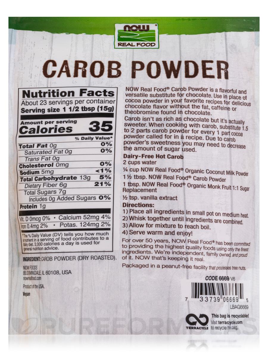 Carob Powder Roasted - 12 oz (340 Grams