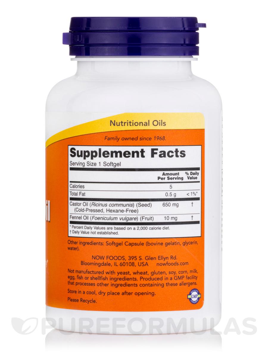 Castor oil 650 mg 120 softgels for Castor services