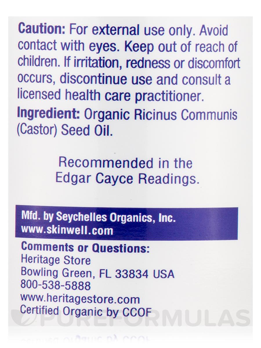 Organic Castor Oil - 16 fl  oz (480 ml)