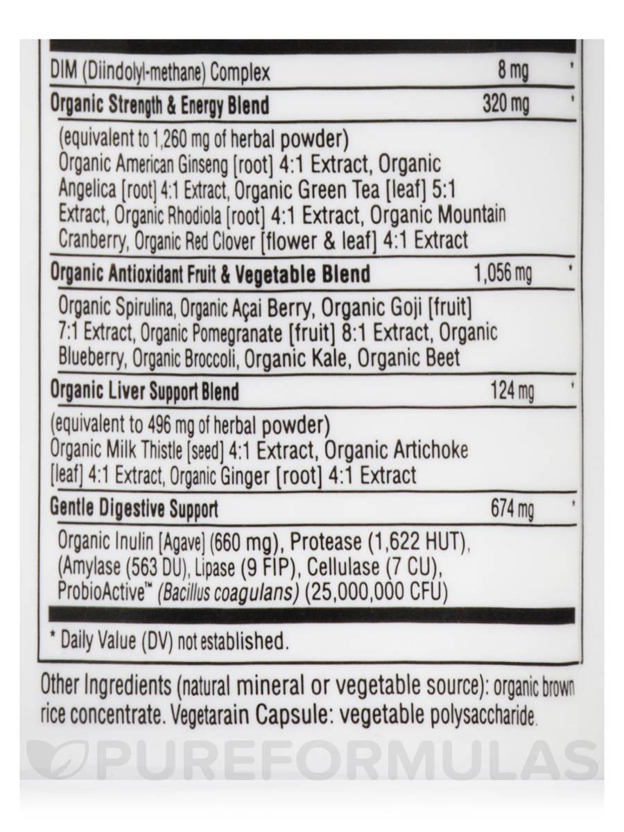 Certified Organics Women S Multivitamin 120 Vegetarian