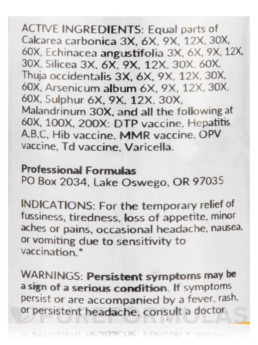 Childhood Immunization Detox - 2 fl  oz (59 ml)