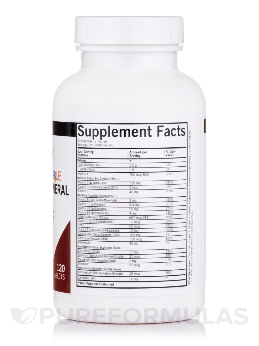 Children S Chewable Multi Vitamin Mineral 120 Wafers