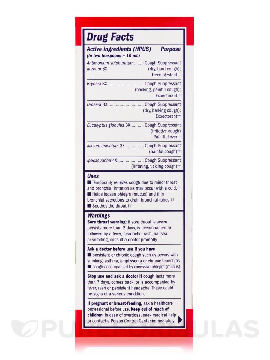 Children's Cough & Bronchial Syrup (Cherry Flavor) - 8 fl  oz