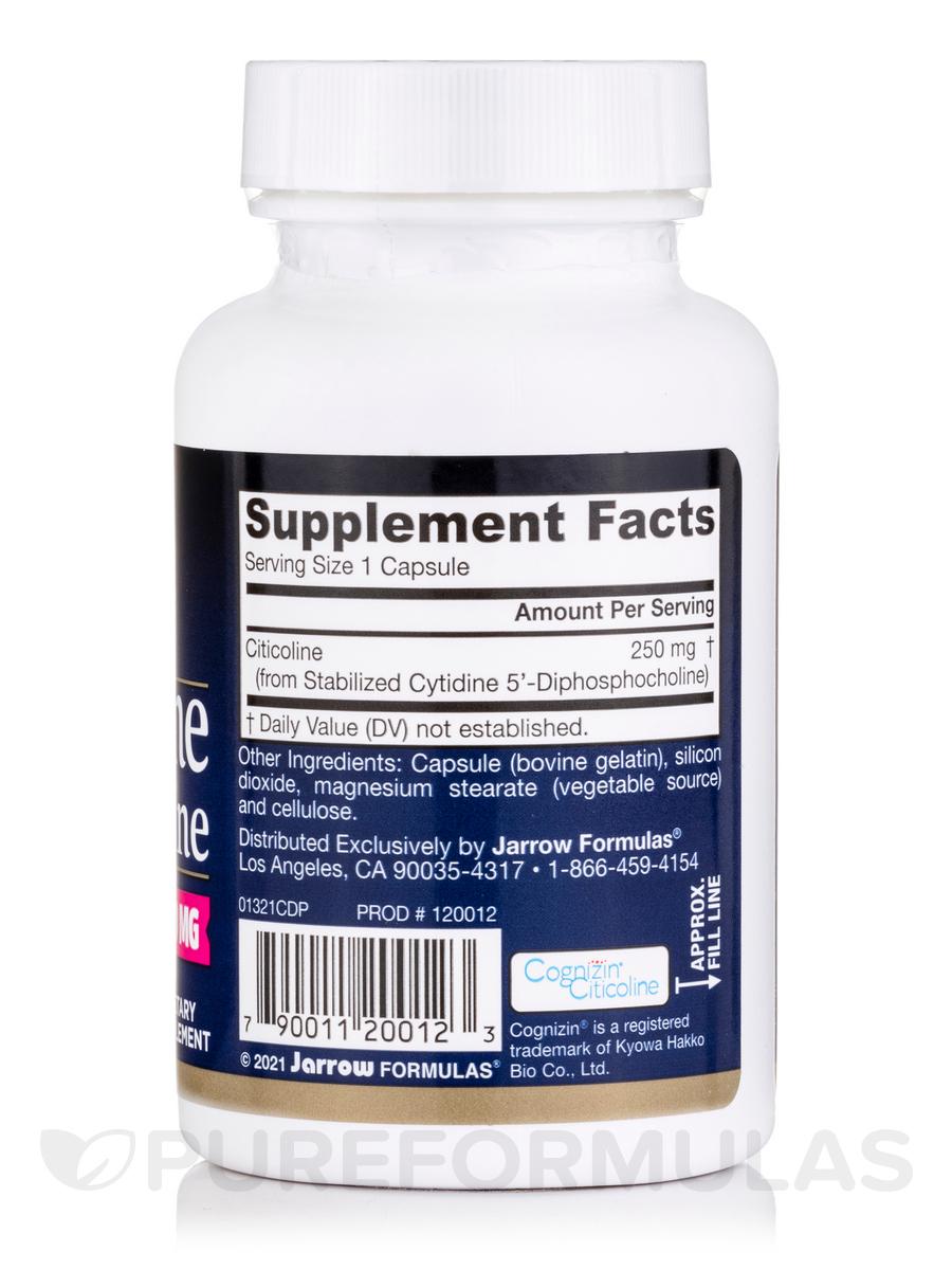 Jarrow formulas citicoline cdp choline 60 viên – viên uống tăng tuần hoàn máu, bổ não tăng cường trí nhớ