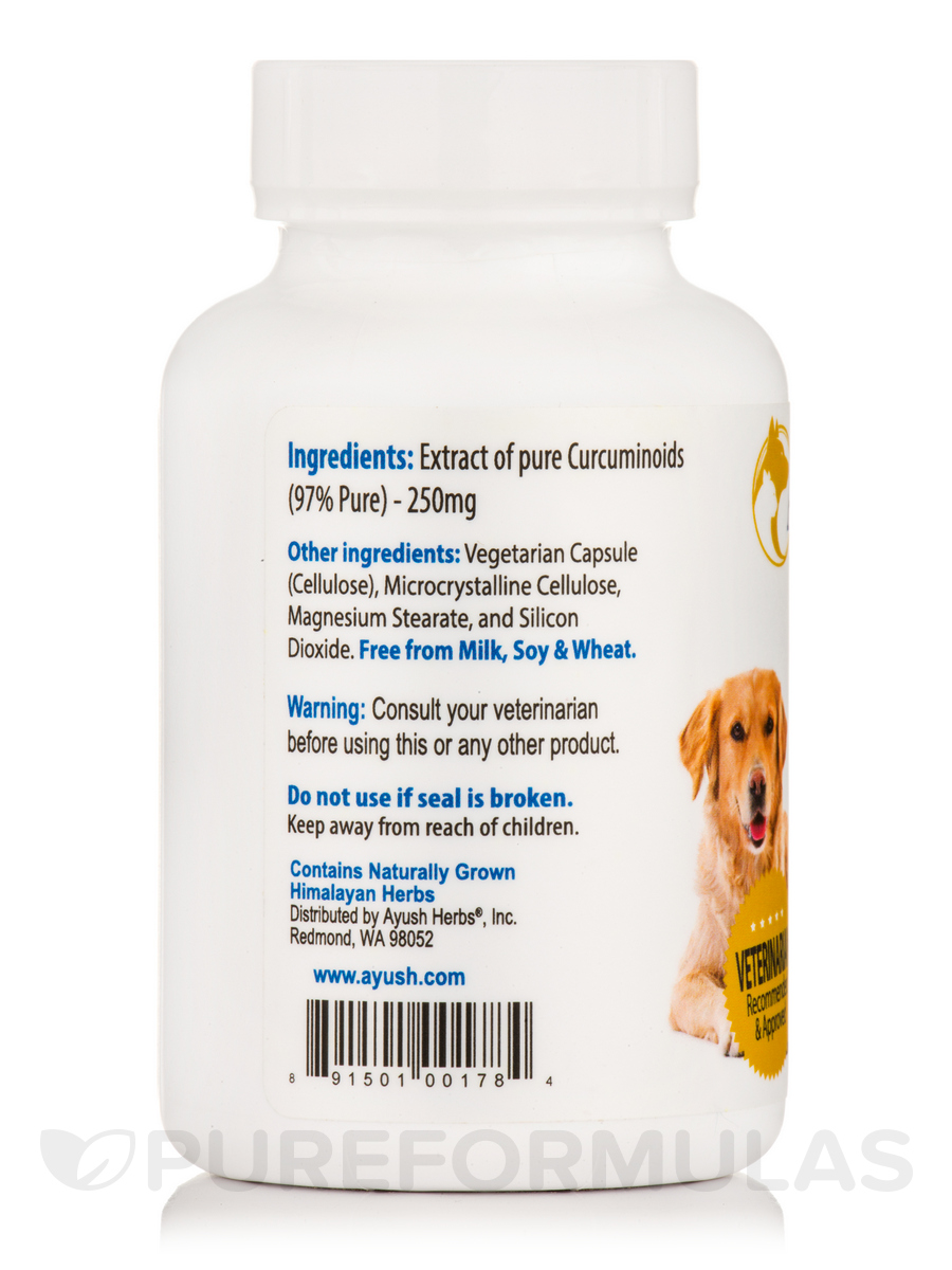 Muscle & Joint Mobility for Pets (Curcumin 97%) - 90 Capsules