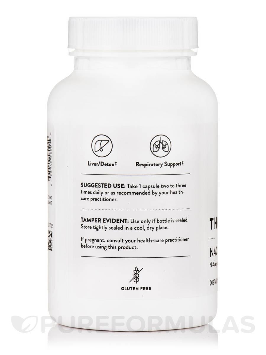 NAC (N-Acetylcysteine) - 90 Capsules