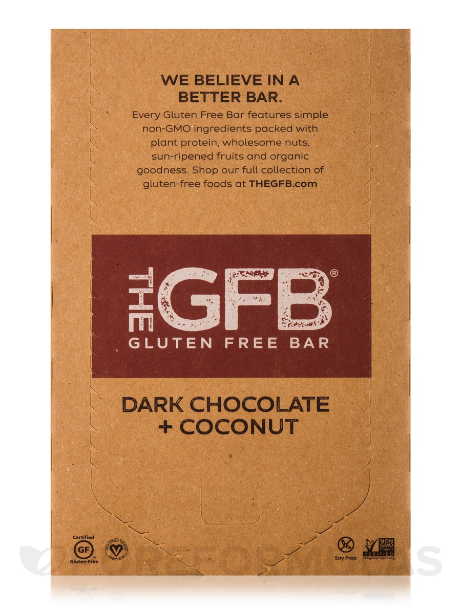 Chocolate Coconut Protein Bar - Box of 12 Bars (2.05 oz / 58 Grams ...