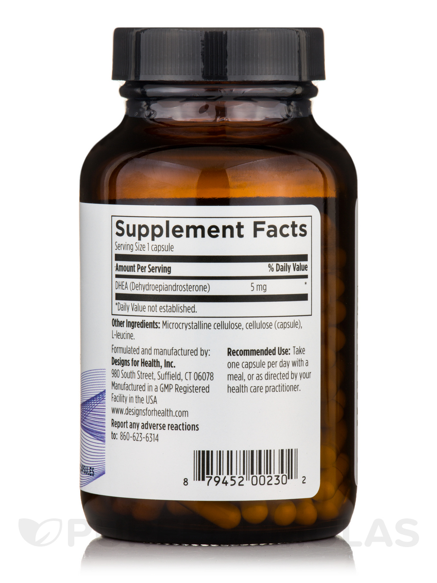 Dhea 5 mg capsules