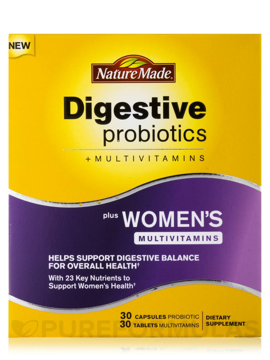 Digestive Health Probiotics Nature Made