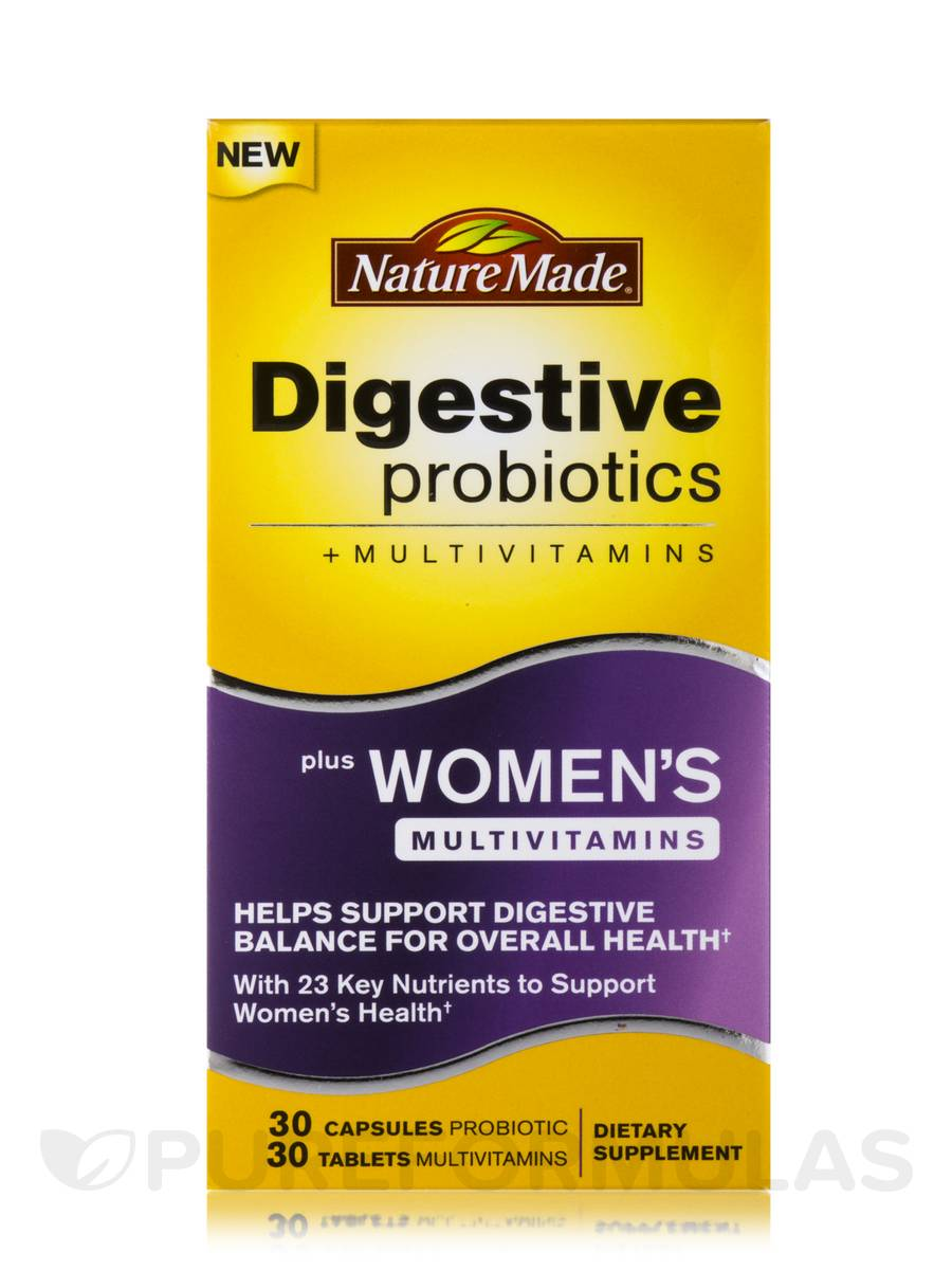 Nature Made Digestive Probiotics Women S Multivitamins
