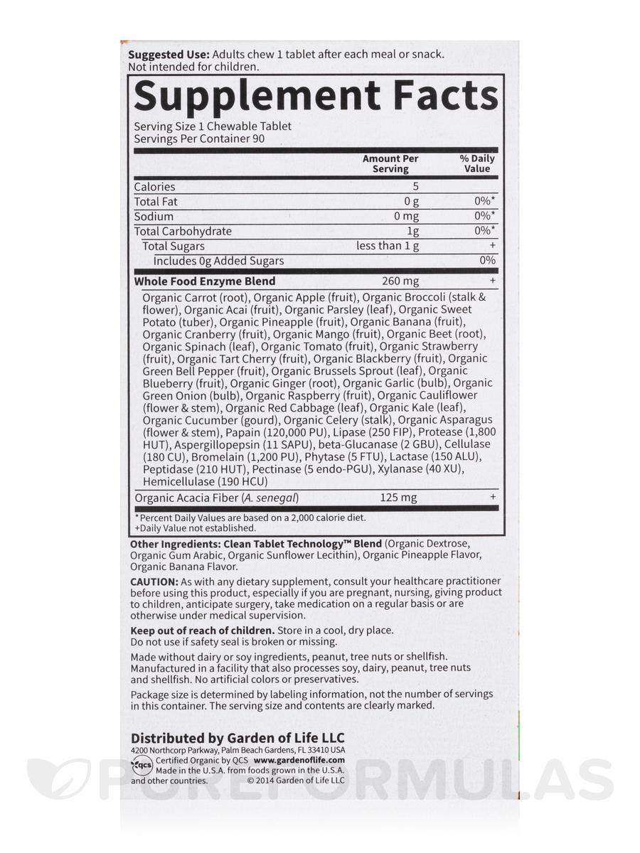 Image Result For Garden Of Life Digestive Enzymes Reviews