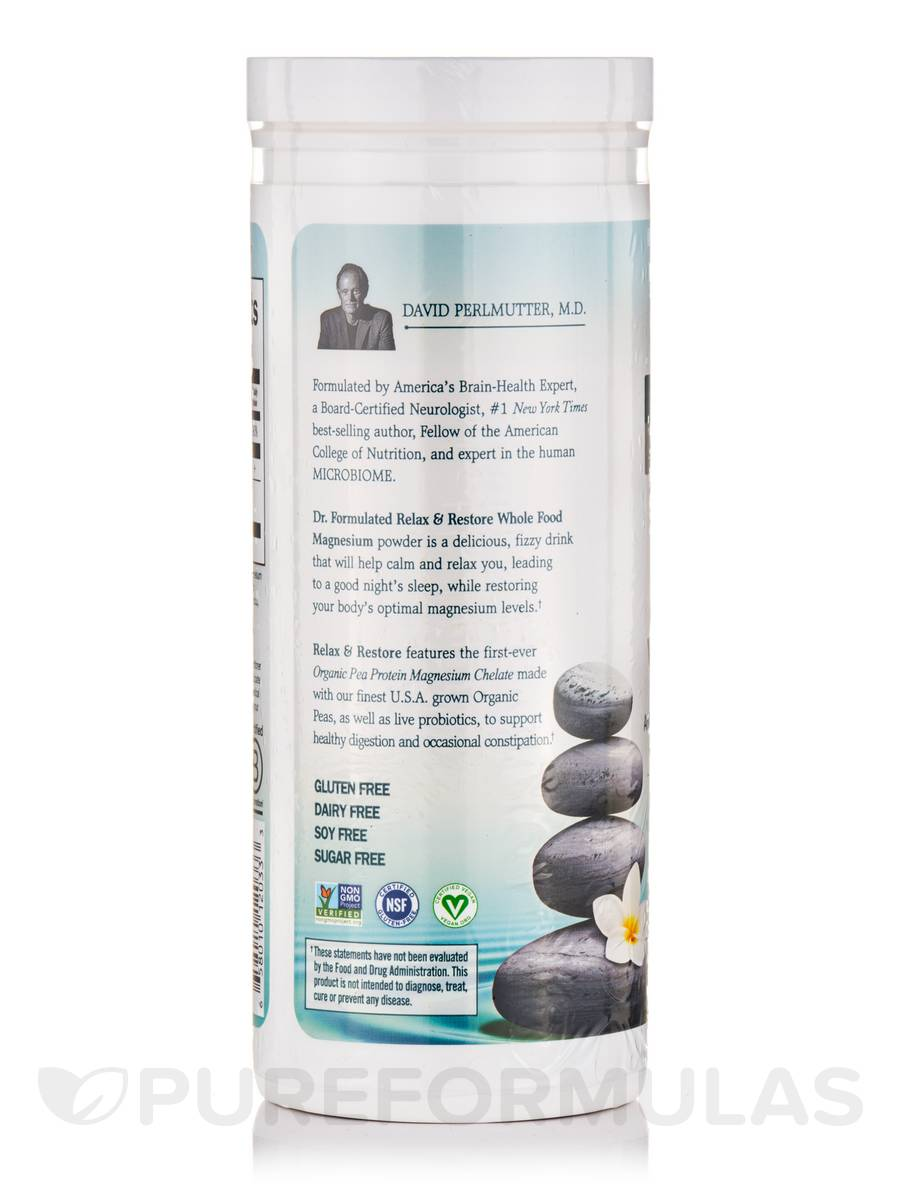 Dr Formulated Magnesium Relax Restore Original No Stevia 6 7 Oz 190 Grams