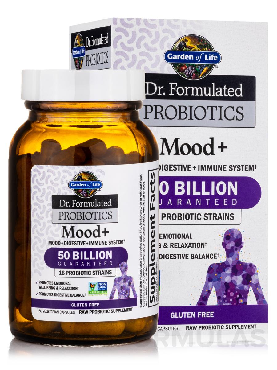 Formulated Probiotics Mood 60 Vegetarian Capsules