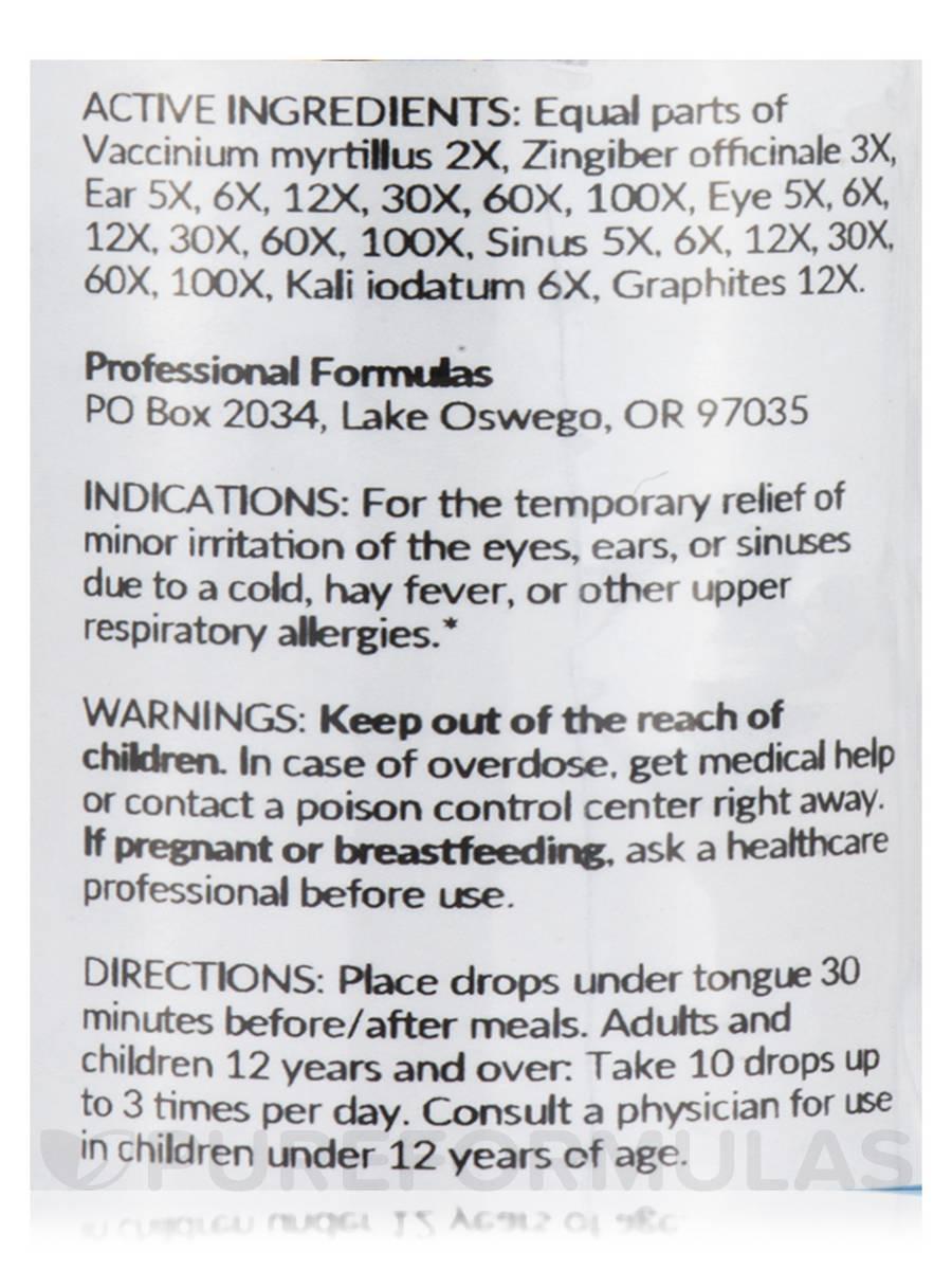 Ear/Eye/Sinus Drops - 2 fl  oz (59 ml)