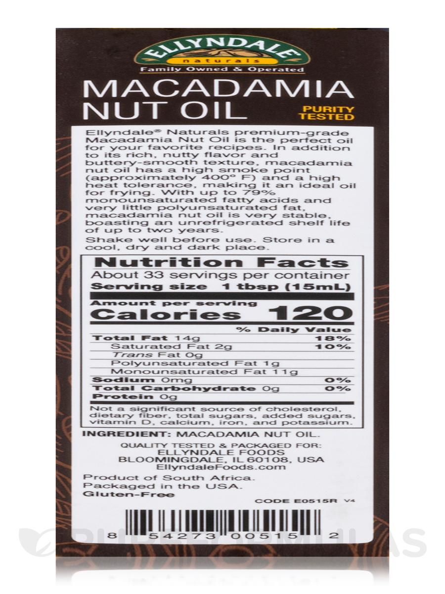 photo Macadamia Nut Nutrition Facts