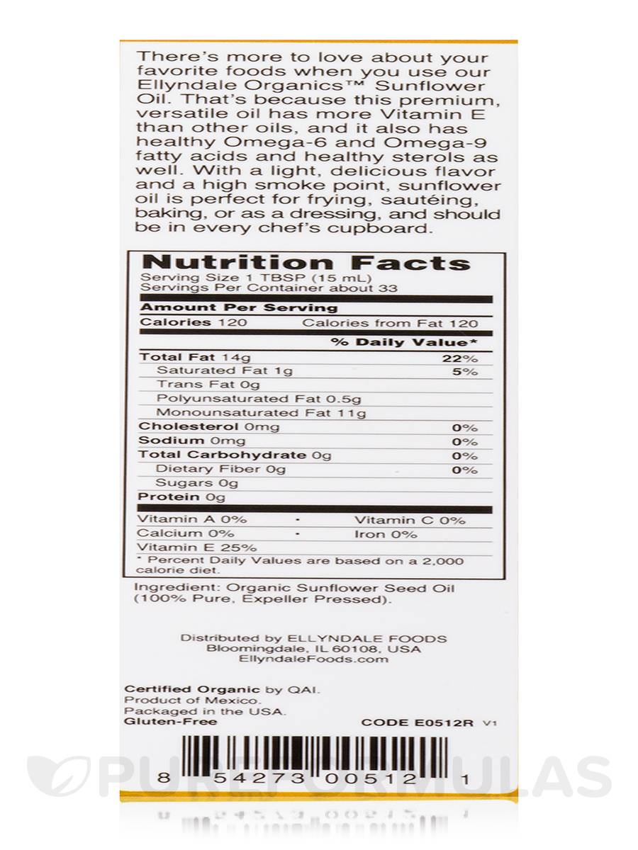 Sunflower oil: calories in a tablespoon, in a teaspoon, per 100 grams 94