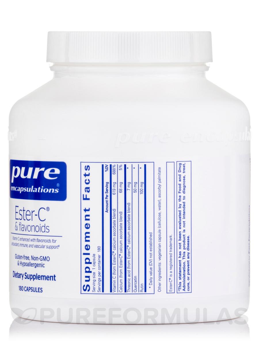 Ester-C® & Flavonoids - 180 Capsules