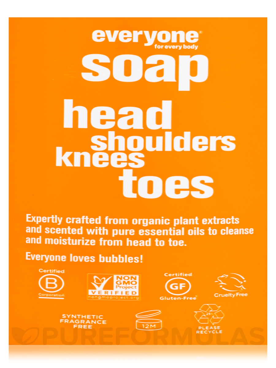 Everyone® Soap for Kids 3-In-1 (Head, Shoulders, Knees+Toes), Orange  Squeeze - 32 fl  oz (946 ml)