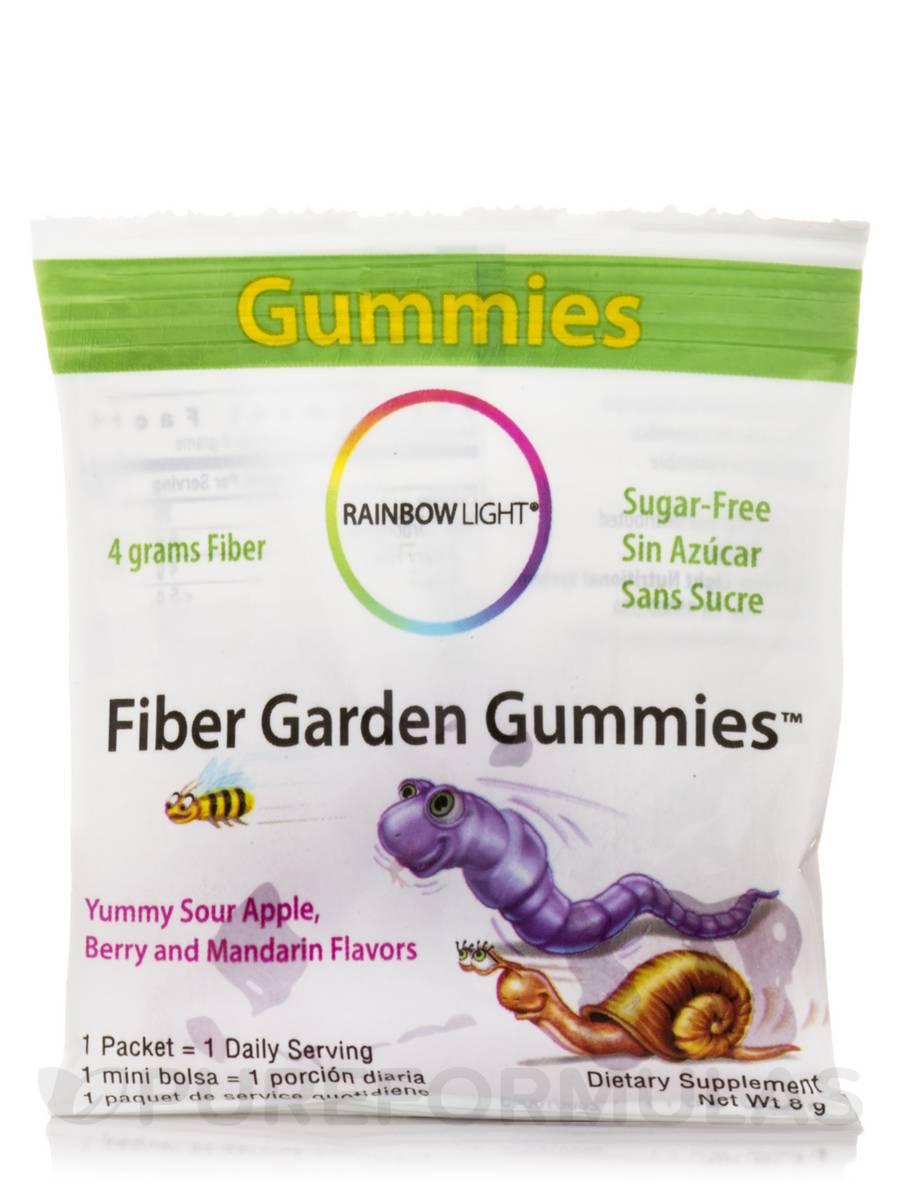 Fiber Garden Gummies Assorted Flavors 30 Packets 120