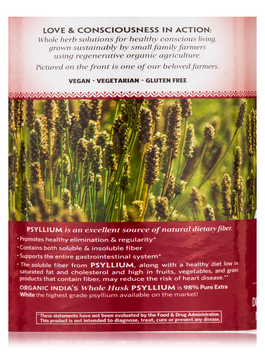 Organic Whole Husk Psyllium - 12 oz
