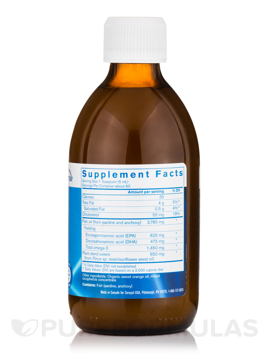 Finest pure fish oil with plant sterols and essential oil for Dr oz fish oil