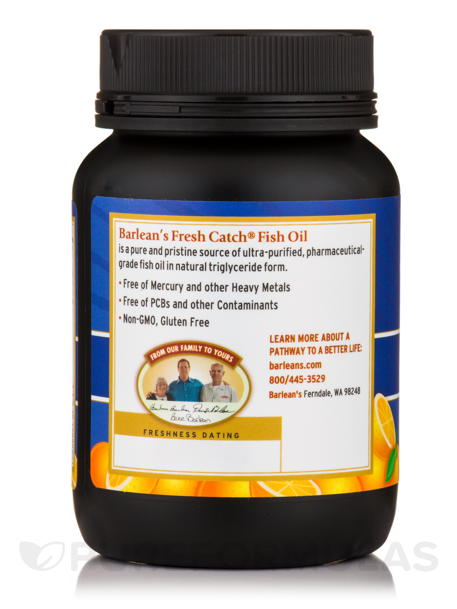 Fresh catch fish oil omega 3 epa dha orange 1000 mg 100 for Fish oil and gout