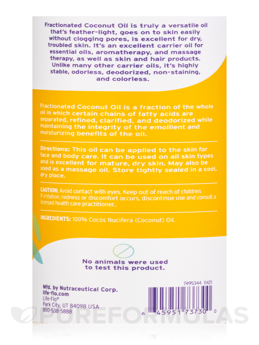 Image Result For Life Flo Fractionated Coconut Oil