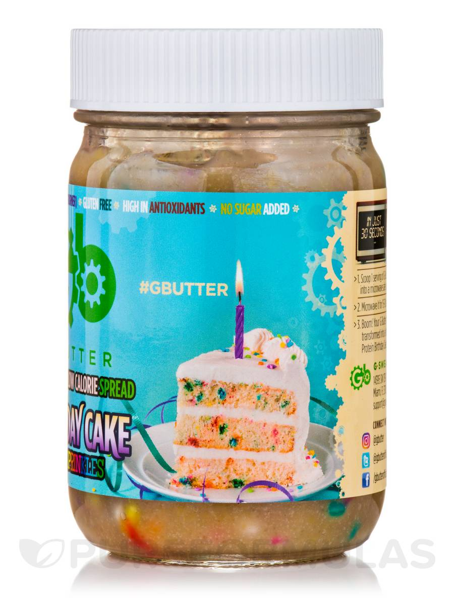 G Butter Birthday Cake With Sprinkles 126 Oz 352 Grams By Extra1